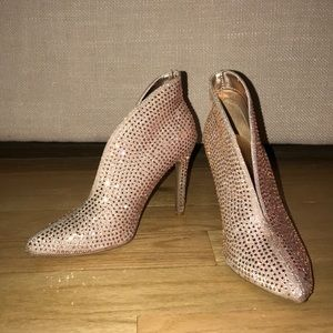 Shoes - Sparkly heeled booties